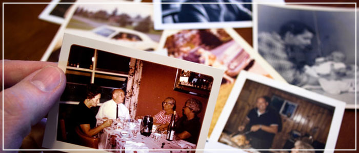 Scanning family photos can save them from deterioration and loss.